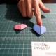 Como fazer coração origami